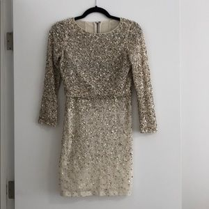 BCBG Two Piece Sequin Set (rare) size small